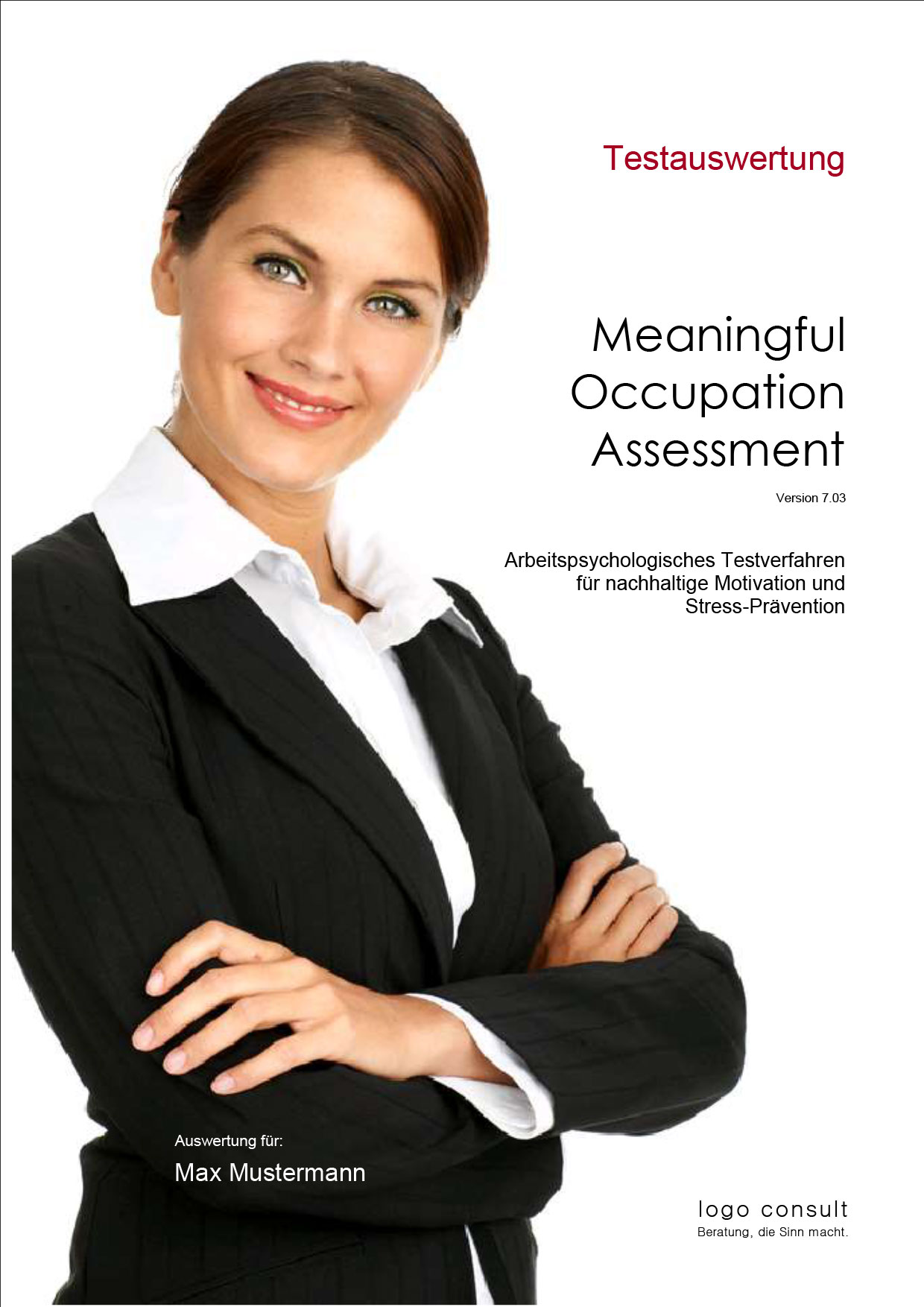 MOA 7.03 – Meaningful Occupation Assessment