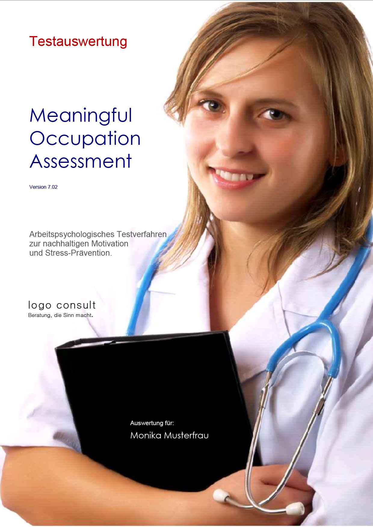 MOA 7.02 – Meaningful Occupation Assessment